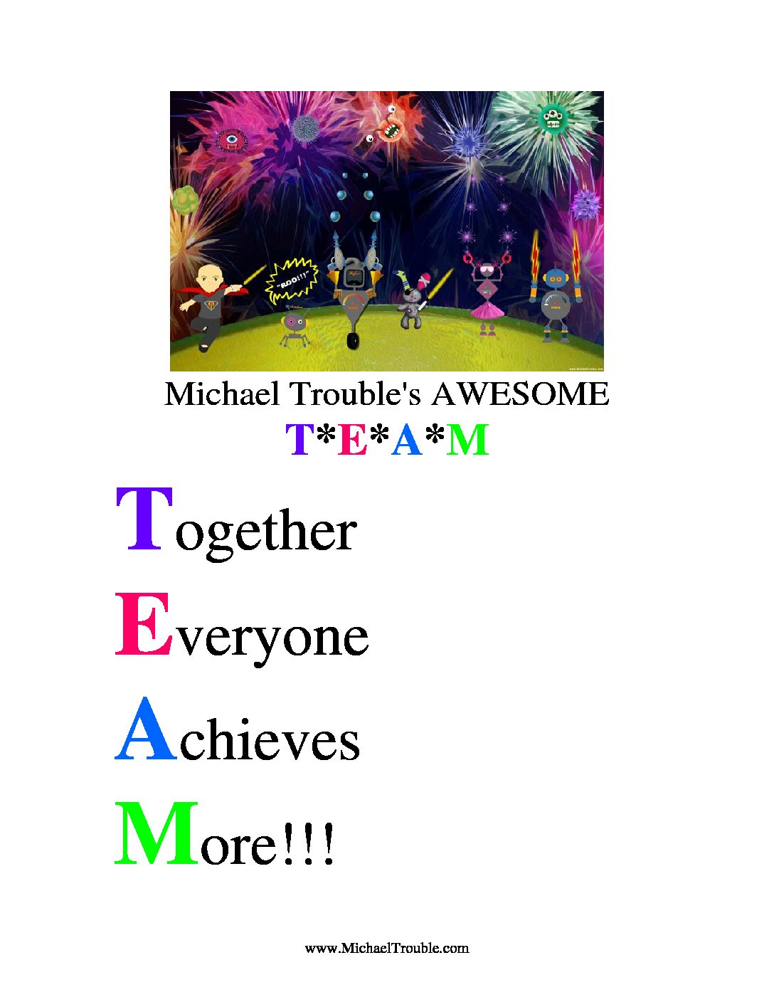 Michael Trouble Team